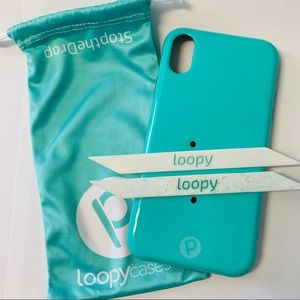 Teal Loopy Case - iPhone XR